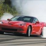 2010 Red Corvette