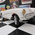 1956-57 Corvette Kiddie Pedal Car that was distributed by Chevrolet dealers in 1956-1957.