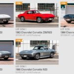 Five N03 Big Tank Corvettes from The Richard Cohen Collection at Mecum Indy Auction