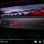 2020 Corvette Stingray Reveal Event Live Video Footage