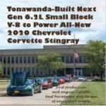 Tonawanda-Built Next Gen 6.2L Small Block V-8 to Power All-New 2020 Chevrolet Corvette Stingray