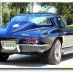Rollie Walriven's Daytona Blue 1963 Split-Window Coupe Feature Car