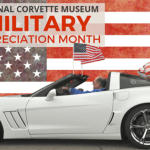 In appreciation for your service, the National Corvette Museum is offering Free Admission for Military Veterans in recognition of our armed forces. This also includes police and firefighters, plus their immediate accompanying family during November.
