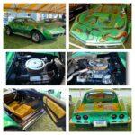 Kevin Livering's seventies custom 1969 Corvette.