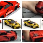 In this blog post, we are looking at Lasse Deleuran's new 2020 C8 LEGO Corvette instructions. There are also has instructions for the 2018 #4 Corvette Racecar, #2018 #63 Corvette Racecar and the 2017 Corvette C7R Le Mans GT.