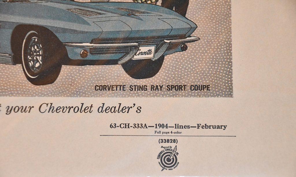 Corvette Ad Proofs