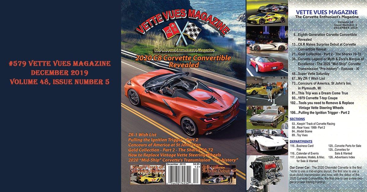 Vette Vues Magazine, December 2019 Issue